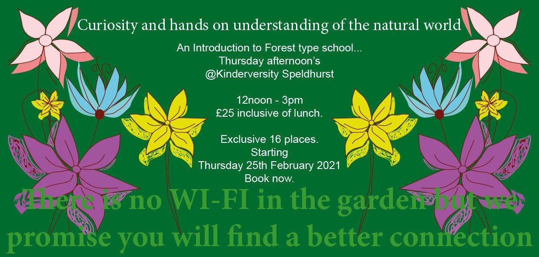 Speldhurst Forest type school nursery